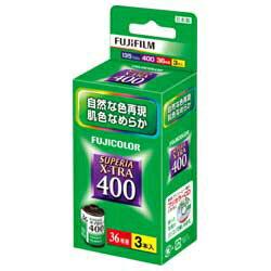 富士フイルムSUPERIA X-TRA400 S 36枚撮り(3本パック) [135SP400XR36EX3SB]
