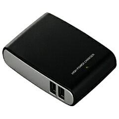 バッファローコクヨサプライiPad対応 2A対応USB充電器 (4ポート) BSIPA09BK [BSIPA09BK]【R...