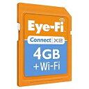 【送料無料】アイファイジャパンEye-Fi Connect X2 4GB ワイヤレスメモリーカード EFJ-CN-4G [E...
