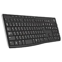 【ポイント10倍】6月18日9時59分まで!【あす楽_関東】ロジクールWireless Keyboard K270 [K270...