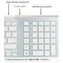 "【送料無料】LMP""Cropmark(LMP)"" LMP Bluetooth KeyPad (Apple Wireless Keyboard用)"