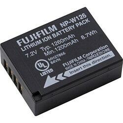 【送料無料】富士フイルムリチウムイオンバッテリー NP-W126 [NPW126]