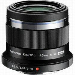 【送料無料】オリンパスM.ZUIKO DIGITAL 45mm F1.8(ブラック) [45MMF1.8]