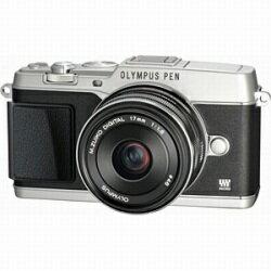 【送料無料】オリンパスオリンパス PEN E-P5 17mm F1.8 レンズキット(シルバー/デジタル一眼...