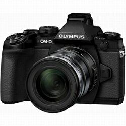 【送料無料】オリンパスオリンパス OM-D E-M1【12-50mm EZ レンズキット】(ブラック)/デジタ...