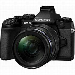 【送料無料】オリンパスオリンパス OM-D E-M1【12-40mm F2.8 レンズキット】(ブラック)/デジ...