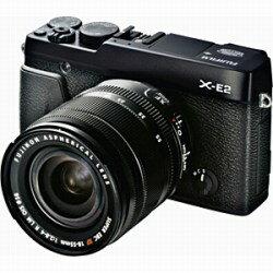 【送料無料】富士フイルムFUJIFILM X-E2【レンズキット】(ブラック/デジタル一眼) [FUJIFILM...