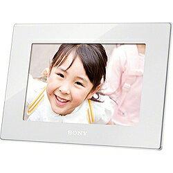 【送料無料】ソニー【8インチ】デジタルフォトフレーム(ホワイト) DPF-HD800 W [DPFHD800W]