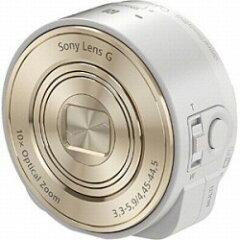【送料無料】ソニーレンズスタイルカメラ サイバーショット DSC-QX10(ホワイト) [DSCQX10]