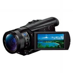 【送料無料】ソニーメモリースティック/SD対応4Kビデオカメラ FDR-AX100 [FDR-AX100BC]