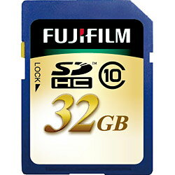 【送料無料】富士フイルム32GB・Class10対応SDHCカード SDHC-032G-C10◆07◆