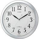 シチズン/リズム時計電波掛け時計 「ネムリーナピュアM20」 4◆09◆