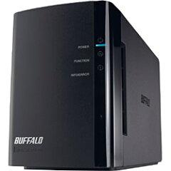 【送料無料】バッファローRAID機能搭載ネットワーク対応HDD LinkStation(2.0TB) LS-WX2.0TL/R1J