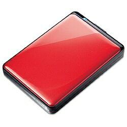 【送料無料】BUFFALOUSB3.0用 ポータブルHDD(500GB・ルビーレッド) HD-PNT500U3-RJ [HDPNT50...