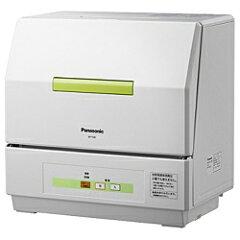 【送料無料】パナソニック食洗機 「プチ食洗」(乾燥機能なし・食器点数18点) NP-TCB1-W ホワ...