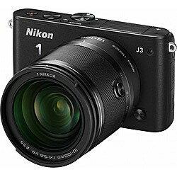 【送料無料】ニコンNikon 1 J3【小型10倍ズームキット】(ブラック)/デジタル一眼 [Nikon1J31...