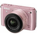 【送料無料】ニコンNikon 1 S1【標準ズームレンズキット】(ピンク)/デジタル一眼 [Nikon1S1HLK]