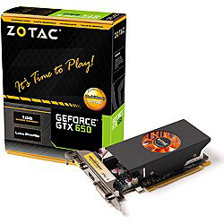 【送料無料】ZOTACGeForce GTX 650 [PCI-Express 3.0 x16・1024MB] ZOTAC GeForce GTX 650 LP...