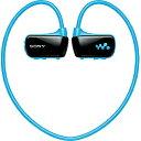 【送料無料】ソニーヘッドホン一体型デジタルオーディオプレーヤー walkman(ブルー/4GB) NWD-W2...