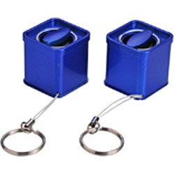 デバイスネットペットボトルスピーカーSTEREO(ブルー)RW95BL [RW95BL]◆01◆