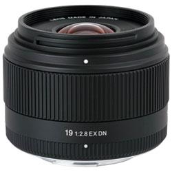 【ポイント3倍】【送料無料】シグマ19mm F2.8 EX DN(マイクロフォーサーズ) [19mmF2.8EXDN]