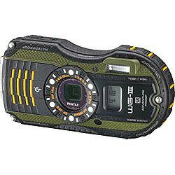 【送料無料】ペンタックスOptio WG-3 GPS(グリーン) [WG3GPS]