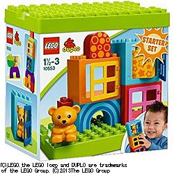 レゴジャパンレゴ デュプロ 基本セット・楽しいキューブ [10553デュプロキホンタノ]