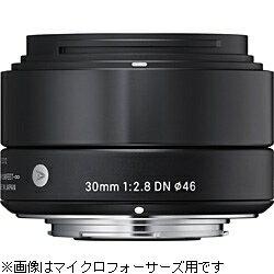 【送料無料】シグマ30mm F2.8 DN(ソニーE/ブラック) [30F2.8DN]