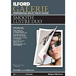 イルフォードギャラリー スムースラスターデュオ(A4・25枚) Galerie Smooth Lustre Duo [422...