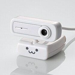 エレコムWEBカメラ[USB・200万画素・UVC対応]一発接続/マイク内蔵モデル UCAM-C0220FBWH [U...