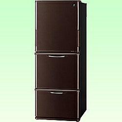 【送料無料】シャープ《基本設置料金セット》3ドア冷蔵庫 「プラズマクラスター冷蔵庫」(314L...