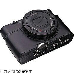【送料無料】GARIZカメラハーフケース 【ソニー サイバーショット DSC-RX100用】(ブラック)...