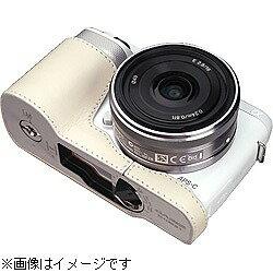 【送料無料】GARIZカメラハーフケース 【ソニー α NEX-F3用】(クリーム) XS-CHNEXF3C [XSC...