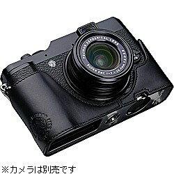 【送料無料】GARIZカメラハーフケース 【FUJIFILM X10用】(ブラック) XS-CHX10BK [XSCHX10BK]