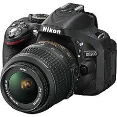 ニコンD5200【レンズキット】(ブラック)/デジタル一眼 [D5200LKBK]