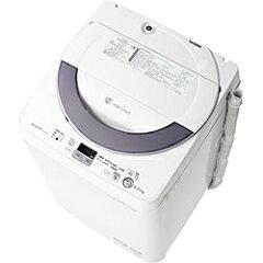 【送料無料】シャープ全自動洗濯機 (洗濯5.5kg/簡易乾燥1.0kg[化繊]) ES-GE55N-S シルバ...