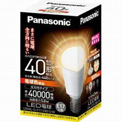 パナソニック調光器非対応LED電球 「EVERLEDS」(小形電球形・全光束440lm/電球色相当・口金E17...