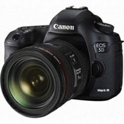 【送料無料】キヤノンEOS 5D Mark III【EF24-70L IS U レンズキット】/デジタル一眼 [EOS5DM32...