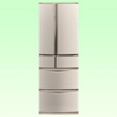 【送料無料】三菱《基本設置料金セット》6ドア冷蔵庫(465L) MR-R47X-F フローラル [MRR47XF]...