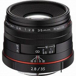 【送料無料】ペンタックスHD PENTAX-DA 35mm F2.8 Macro Limited【ペンタックスKマウント】(ブ...