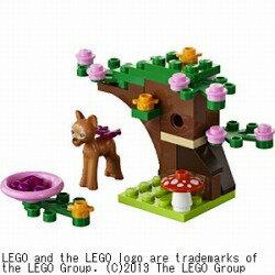 【あす楽対象】レゴジャパンLEGO 41023 バンビとグリーンフォレスト [41023バンビフォレスト]