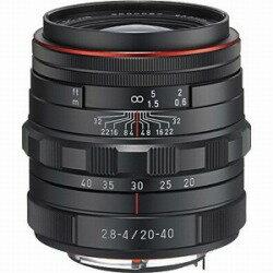 【送料無料】ペンタックスHD PENTAX-DA 20-40mm F2.8-4ED Limited DC WR【ペンタックスKマウント】(ブラック)[HDPENTAXDA2040mm]
