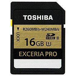 【送料無料】東芝16GB・UHS Speed Class1(UHS-II)対応SDHCカード SDXU-016GA [SDXU016GA]