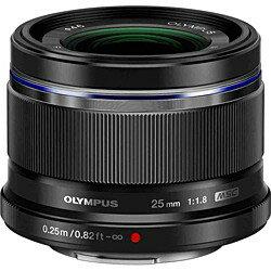 交換レンズ「M.ZUIKO DIGITAL 25mm F1.8」