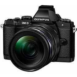 【送料無料】オリンパスOM-D E-M5【12-40mm F2.8 レンズキット】(エリートブラック)/デジタ...