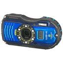 【送料無料】リコーRICOH WG-4 GPS(ブルー) [WG4GPS]