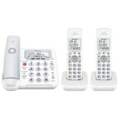 【送料無料】パイオニア【子機2台】デジタルフルコードレス電話機 TF-FE30T-H(グレー) [TFFE...