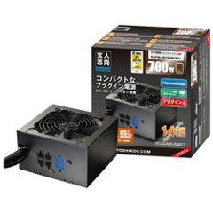 【送料無料】玄人志向ATX/EPS電源(700W) KRPW-PB700W/85+ [KRPWPB700W85+]