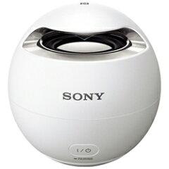 【送料無料】ソニーBluetooth対応 ワイヤレス防水スピーカー(ホワイト) SRS-X1 WC [SRSX1WC]