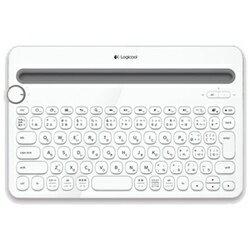 ロジクールワイヤレスキーボード[Bluetooth] 【スマホ/タブレット対応】 マルチデバイスキ...